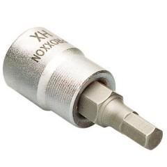 Proxxon 23580- Chei tubulare HEX (IMBUS) 8mm si patrat de 3/8
