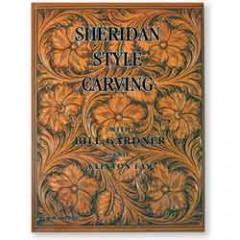 "6013-01  Carte sculptura pielarie ""Sheridan Style Carving"""