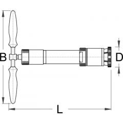 1614/4BI Extractor universal pentru furca de pe suspensie bicicl
