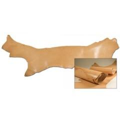 Poale piele tabacita vegetal italiana, 1.8-2mm grosime.
