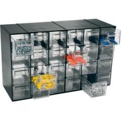 Hobby-24 Modul cutii /sertare transparente 228x142x377 mm