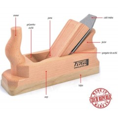 2-39 Rindea de lemn pentru operatii de indreptare-degrosare, 39 mm, Pinie