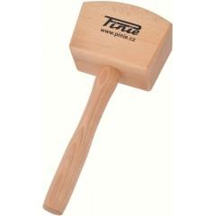 52-2 Ciocan de lemn pentru dulgherie, 650 gr., Pinie