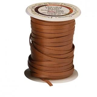 Sireturi din piele de vitel, 3mm/22.9m, Tandy Leather USA