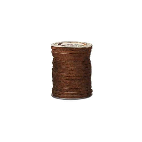 Sireturi din piele model EcoSoft Suede, 2mm / 15.2m, Tandy Leather USA