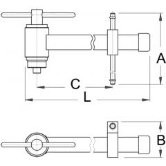 1602/2 Dispozitiv de control și aliniere mecanism de schimbare