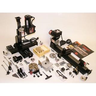 Pachet mini strung si mini freza 6010 CNC