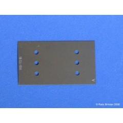 RB-T016 Lama taiere fina (24 d/cm - 58 tpi) pentru modelism