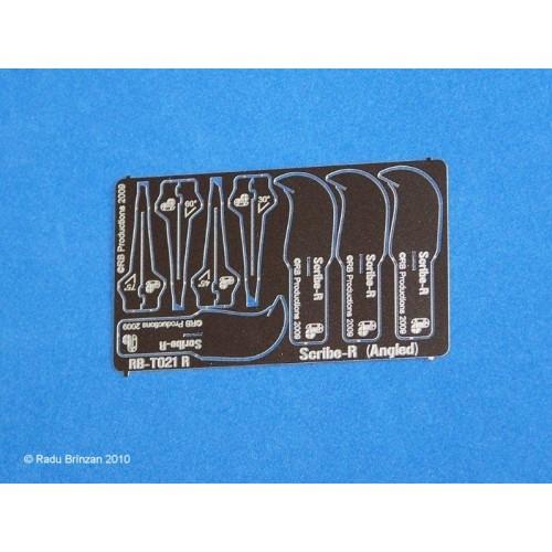 RB-T021R Scribe-R unghiular, pe DREAPTA