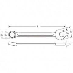 Proxxon 23911 - Cheie combinata fixa 11mm