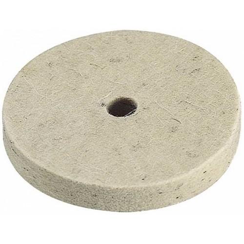 2130000 Disc lustruire/ceruire din pasla, Ø 75mm, ax Ø 10mm