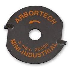 MIN.FG.012 Disc carbura pt polizor sculptura lemn Arbortech