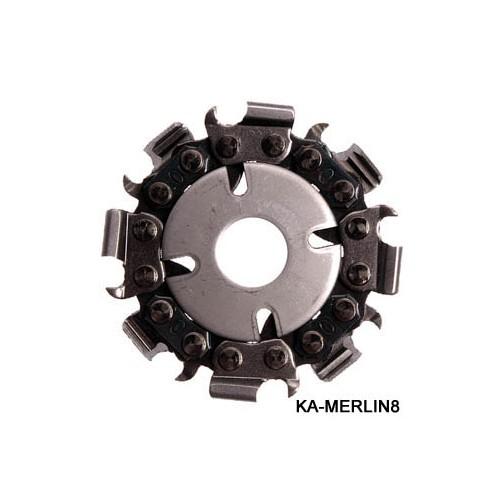 MERLIN Disc sculptura lemn pt polizor Proxxon LWS