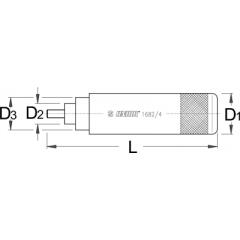 1682/4 Dispozitiv de montat ax ghidon