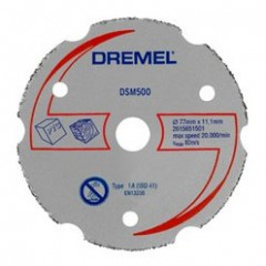 DSM500 Disc de taiere multifunctional din carbura ,Dremel