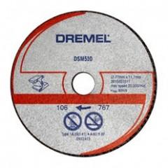 DSM510 Disc de taiere metal si plastic ,Dremel
