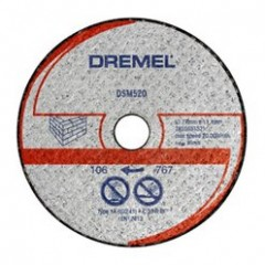 DSM520 Disc de taiere zidarie,Dremel