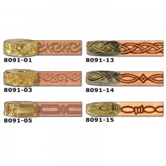 8091-05 Disc embosare margini piele.