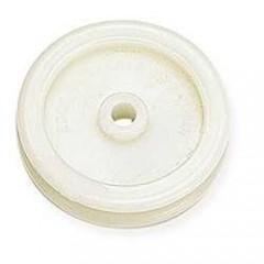 8122-00 Scula modelaj/finisaj din plastic pt pielarie.