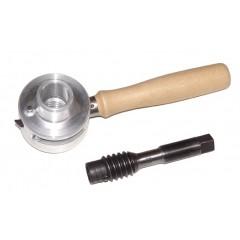 SWS25 Set tarod si filiera pentru lemn, 25mm