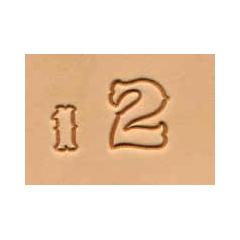 8136-00 Set stante embosare piele CIFRE de 13mm.