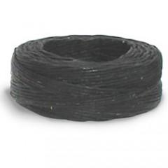 11207-01 Ata de in neagra cerata pt cusut manual piele 23ml