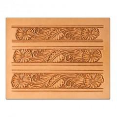 """76623-00 Sablon pielarie """"Floral"""" pentru curele  Tandy Leather"""