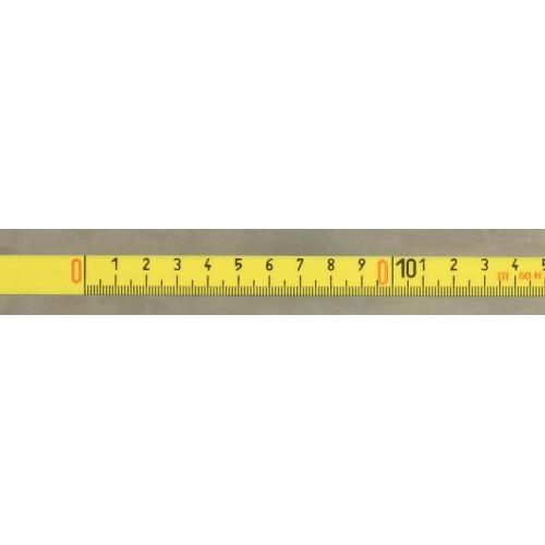 X196 Ruleta/rigla autocolanta 30 m, de la stanga la dreapta