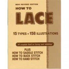 "6004-00 Carte pielarie ""How To Lace Book"""