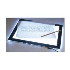 3504-00 Tableta luminoasa transfer sabloane pielarie sculptura.