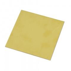 HOB A 005 Foaie de tabla de alama pentru modelism 0.5x500x500mm