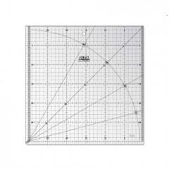 MQR Rigla gradata 30X30 cm pielarie, Olfa