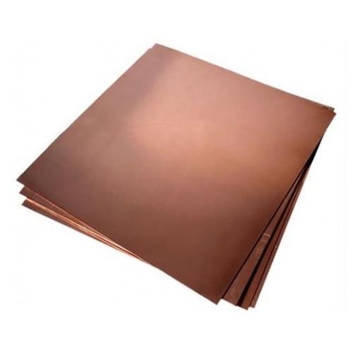 HOB C 025 Foaie de tabla de cupru pentru modelism 0.5x250x250mm