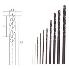 HOB 0015 Set 10 burghie HSS , 0.3-3.2mm