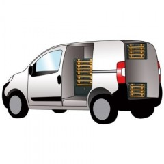 Modul depozitare / auto de scule si accesorii. 49 x 34 x 38cm