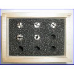 24252 Set cinci pensete frezare