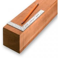 Echer tamplarie de precizie METRIC, Veritas Tools.