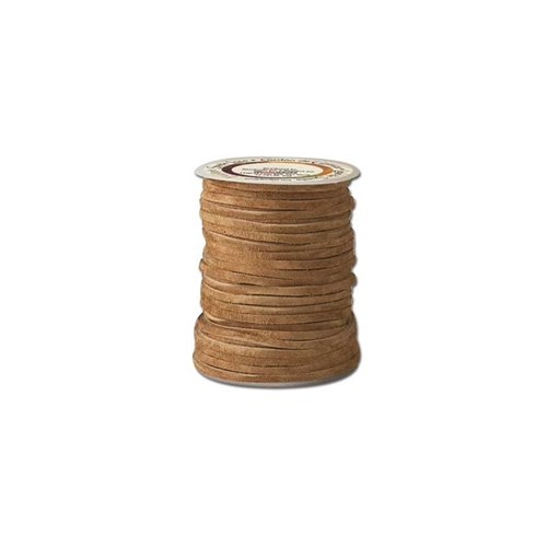 Sireturi din piele model EcoSoft Suede, 3mm / 15.2m, Tandy Leather USA