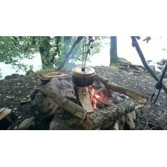 Oala cu capac de 2.4 litri pt camping/outdoor Trangia.