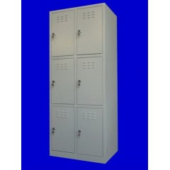 "Vestiar metalic cusetat 2x3 cusete ""MINI"",600x450x1500 mm"
