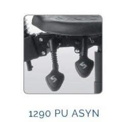 Scaun profesional 1290 PU ASYN cu brate BR06