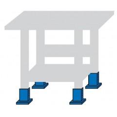 Kit pentru inaltare banc cu  6 picioruse