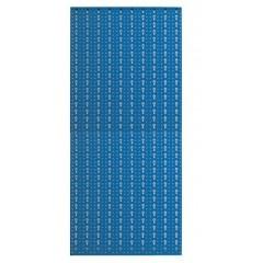 Panou profesional vertical albastru, 500x1000mm