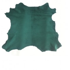 Piele capra captuseala/proiecte mici, verde