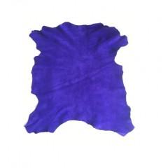 Piele capra captuseala/proiecte mici, albastru