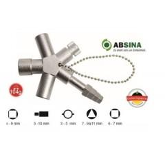 AB-1004 Cheie universala ABSINA pentru panouri