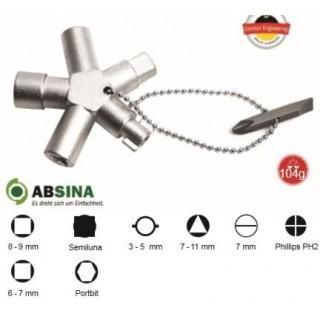 AB-1008 Cheie universala ABSINA  pentru panouri