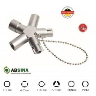 AB-1009 Cheie universala ABSINA pentru panouri