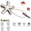 AB-1010 Cheie universala ABSINA  pentru panouri