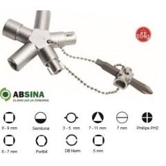 AB-1011 Cheie universala ABSINA pentru panouri